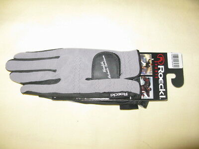 Roeckl Gloves Grey Ascot
