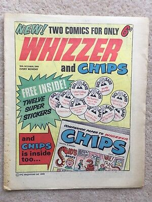 Whizzer And Chips Comic #1 - Ipc - 1969