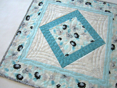 Table Topper, Quilted Tabletop, Home Decor, Handmade Gift