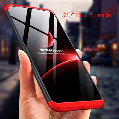 For Xiaomi Redmi 6A 6 5A Note 7 360°Full Protection Case Hybrid Armor Hard Cover