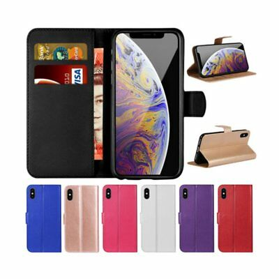 Case For iPhone 8 Flip Wallet Leather Cover Magntic Luxury Multi-functional T5