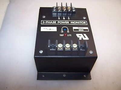 New Time Mark 3 Phase Power Monitor 120 Vac Contact Model C263