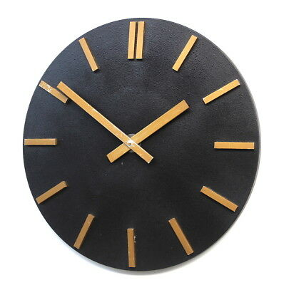 Large EAST GERMAN1960s Midcentury Vintage Retro Industrial Factory Clock