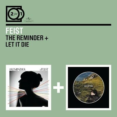 Feist - 2 For 1: The Reminder/Let It Die 2 Cd++++++++++++++ New!