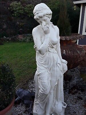 Life size mid 19th Century cast iron statue  Antike Statue EVE Gusseisen -1860 -