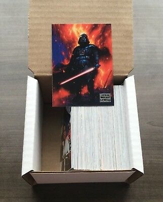 2018 Topps Star Wars Galaxy Complete Base Set - 100 Cards