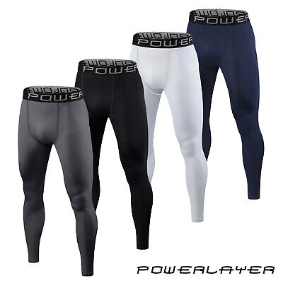 Mens Boys Compression Armour Baselayer Tights Bottoms Thermal Under Skins