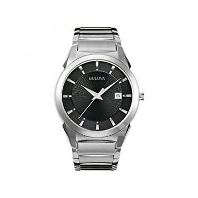 Watch Bulova Classic 96B149 Automatic Analogue Only time Steel Steel