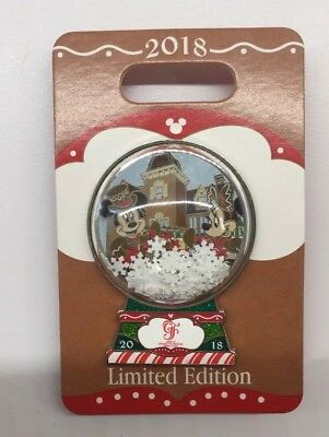 Disney Pin Disney's Grand Floridian Gingerbread House 2018 Christmas Mickey Pin