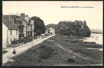 CPA Mary-sur-Marne, Les Pavillons