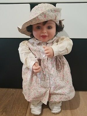 """My Twinn Babies Doll James Cornwall Poseable w/6 pc. outfit Amber eyes 19"""""""