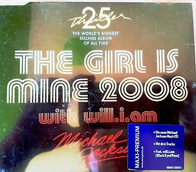 Michael Jackson - The girl is mine with will.i.am      CD