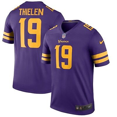 1143ef4a1 Nike NFL Minnesota Vikings Adam Thielen  19 Color Rush Legend Edition Jersey