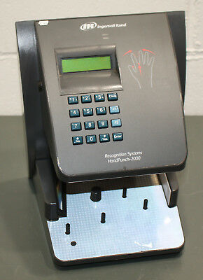INGERSOLL RAND RECOGNITION System Hand Punch 2000, Biometric Employee Time  Clock