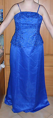 vestito donna sera blu long woman cocktail blue night sexy dress corsetto corset