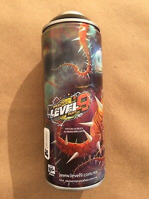 Level9 Spray Paint Limited Edition Spray Can, Artist Series, Rare