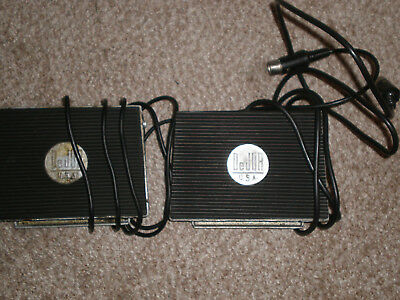 2 DeJUR Foot Pedals Four Pin Made in USA Used Metal