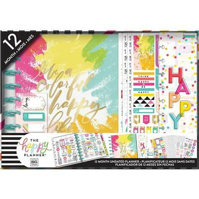MAMBI The CLASSIC Happy Planner - Boxed Kit with Extras Colourful Happy Everyday