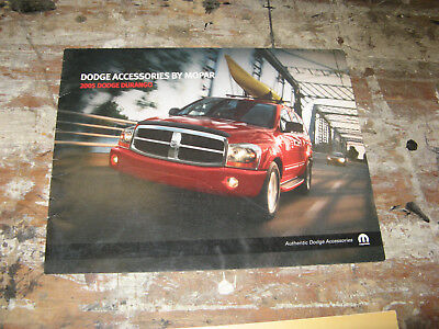 2005 Dodge Durango Accessories 12 Page Dealer Brochure Mopar S Manul Book