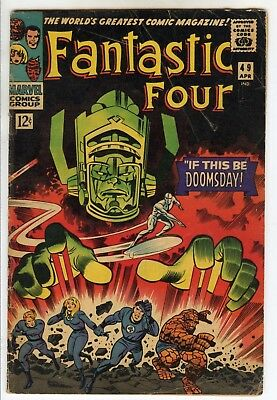 Fantastic four #49 1st Full Appearance Galactus & 2nd Silver Surfer