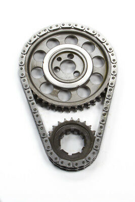 Rollmaster-Romac CS1050 Timing Chain Set - Gold Series Fits Small Block Chevy