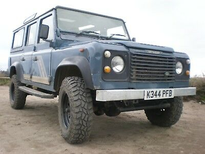 Landrover Defender 110 County Station Wagon 300 tdi.  Lifted.