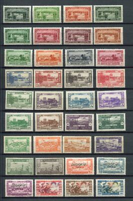 LEBANON 1930-51 AIRMAIL Mint COLLECTION 72 Stamps