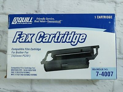 Quill Brother Compatible PC-201 FAX Film Cartridge BRAND NEW SEALED 7-4007