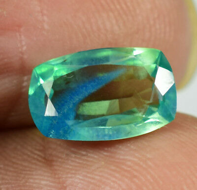 2.35 cts Natural Rare Ceylon  Vivid Parti sapphire gemstone GIE Certified