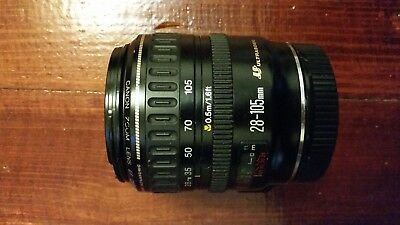 Canon EF 28-105mm f/3.5-4.5 II EF USM Lens, used, fully functional