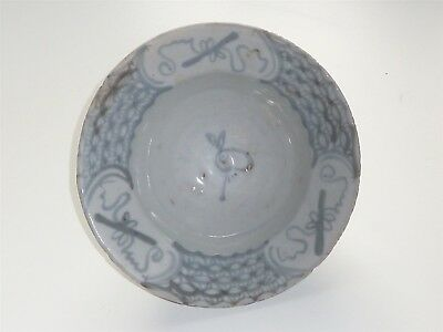 Beautiful Chinese Ming Dynasty Year Of The Rabbit Ogee Bowl