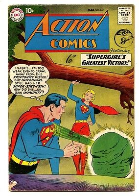 Action Comics #262 - DC 1960 - VG - Superman