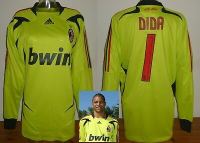 ba4ea15dfe3 a.c.milan football goalkeeper shirt pleasexl dida formotion jersey