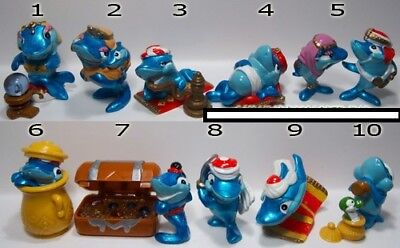 Lot anciens Kinder Série Squalibaba