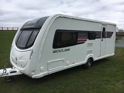 2011 Sterling Eccles Moonstone Caravan 4 Berth
