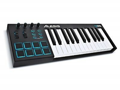 Alesis V25 25 Key USB MIDI Keyboard & Drum Pad Controller BRAND NEW