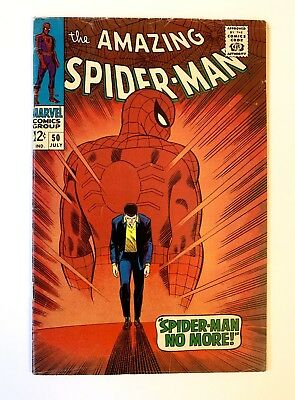 Amazing Spider-Man #50 BEAUTIFUL UNRESTORED 1st App of the Kingpin