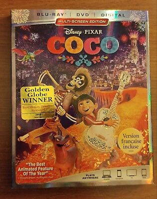 Disney's Coco (Blu-ray Version Only w/ Bonus Disc) - includes case and cover