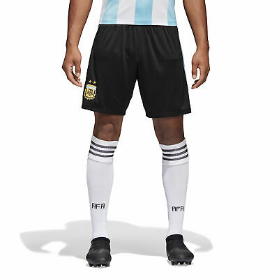 Argentina Home Shorts 2018 Mens adidas Football