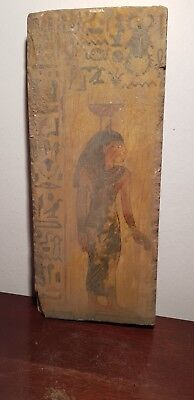 Rare Antique Ancient Egyptian Stella Goddess Nephthys very Rare 2130-2060BC