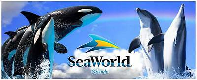 SEA WORLD Big SALE ** 2 Tickets + FREE MEAL $20 ** (Read Listing Full)
