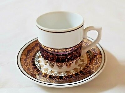 LEART Tea cup and Saucer Set Demitasse espresso Made in BRAZIL