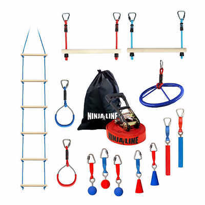 Slackers Deluxe Ninja Kit, Ninja Gym for Anyone Looking for Physical Fitness