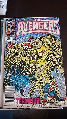 The Avengers #257 first appearance Nebula Marvel 1985