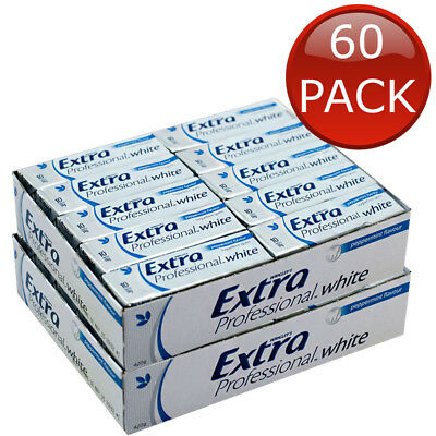 24 X 14PCS WRIGLEY'S EXTRA PEPPERMINT SUGARFREE CHEWING GUM