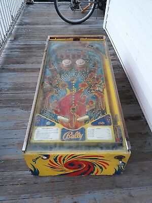 1976 Bally Fireball Pinball Machine