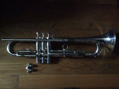 NEW YEAR $ALE 70s 1OWNER  NO WEAR! SCHILKE B3  LB VINTAGE Bb TRUMPET PRO PERFECT