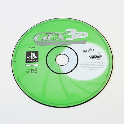 Gex 3D Enter The Gecko - Sony Playstation Psone PS1 Juego - Solo Disco