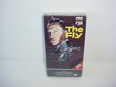 The Fly Vincent Price VHS