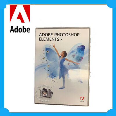 ADOBE Photoshop Elements 7.0 EDU for WINDOWS with Media CD plus Serial No Inc.